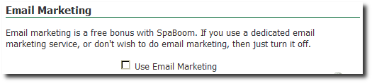 Email Marketing Not On